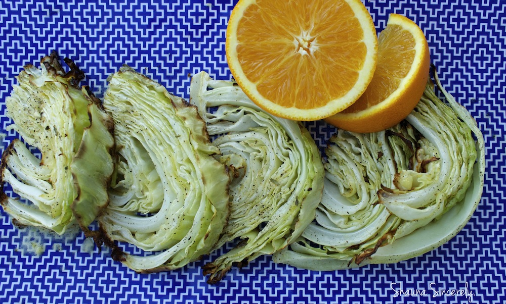 Roasted Cabbage-