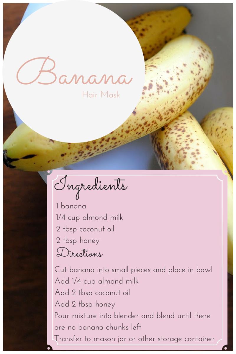 Vitamin Rich Diy Banana Hair Mask