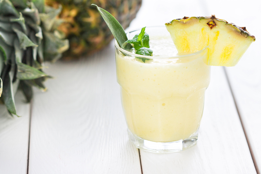 Mango Pineapple Vegan Smoothie Recipe