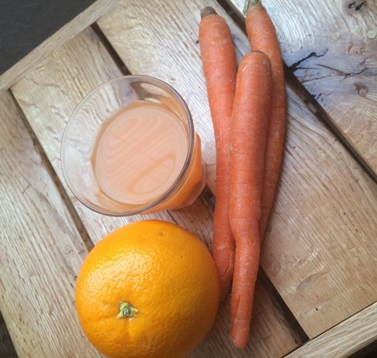 orange carrot ginger juice 2