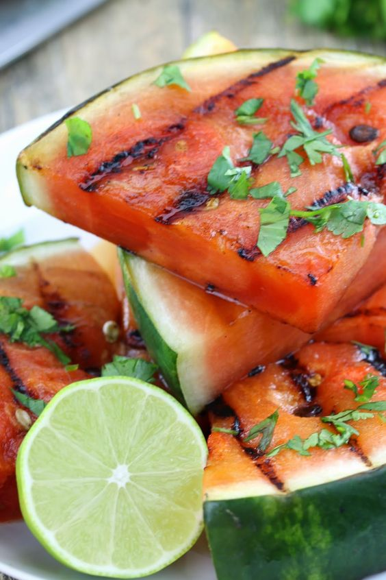 grilled-summer-fruit-watermelon