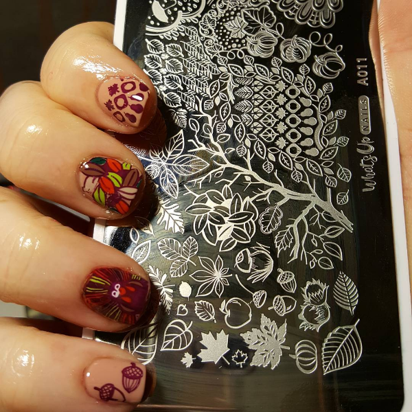 Thanksgiving nail
