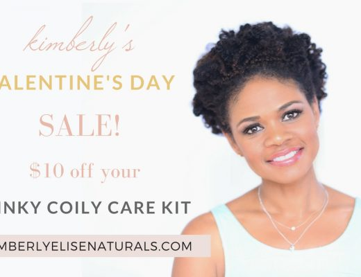 Kinky Coily Care Valentine's Day Sale